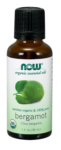 NOW Essential Oils Bergamot Oil, Organic