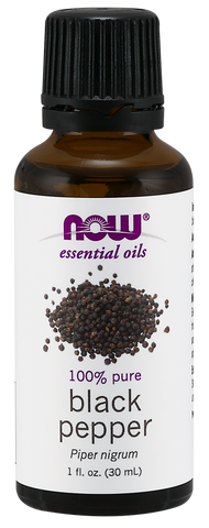 NOW Essential Oils Black Pepper Oil