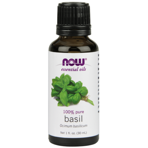 NOW Essential Oils Basil Oil
