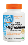 Doctor's Best High Absorption Magnesium with 100% Chelated Albion Minerals
