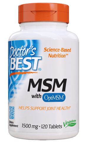 Doctor's Best MSM 1500 mg with OptiMSM