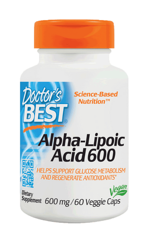 Doctor's Best Alpha-Lipoic Acid 600