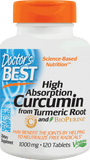 Doctor's Best High Absorption Curcumin from Turmeric Root