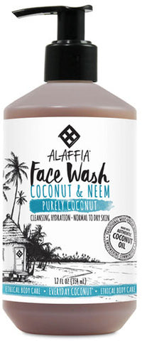 Alaffia Coconut Face Wash