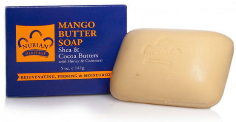 Nubian Heritage Bar Soap - Mango Butter