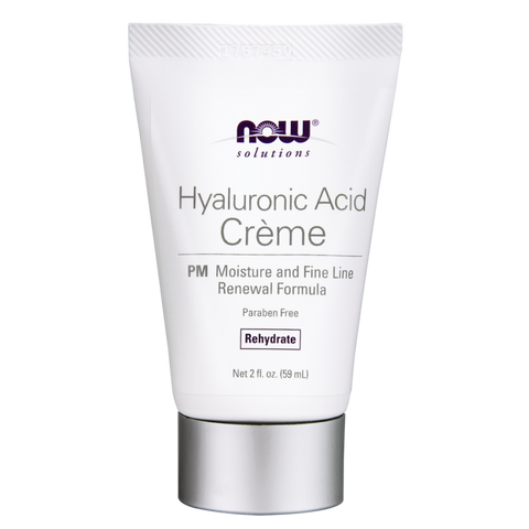 NOW Solutions Hyaluronic Acid Creme PM Moisture & Renewal Formula