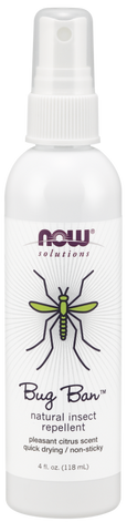 NOW Solutions Bug Ban Spray Natural Insect Repellent