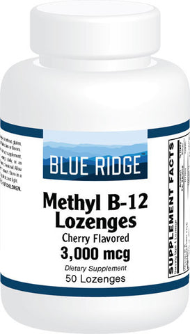 Blue Ridge Methyl B-12 Lozenges