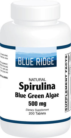Blue Ridge Spirulina Blue Green Algae