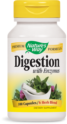 Nature's Way Digestion Herbal Formula with Enzymes