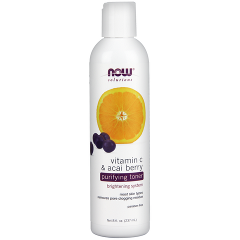 NOW Vitamin C & Acai Berry Purifying Toner