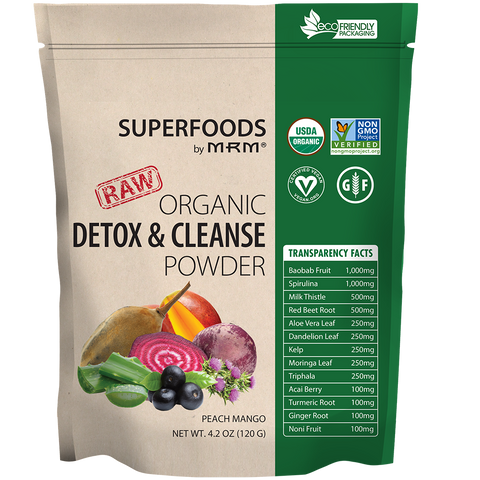 MRM Superfoods RAW Organic Detox & Cleanse Powder