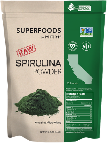 MRM Superfoods RAW Spirulina Powder