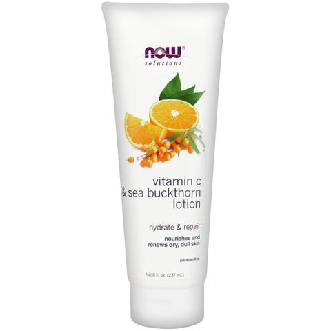 NOW Vitamin C and Sea Buckthorn Lotion