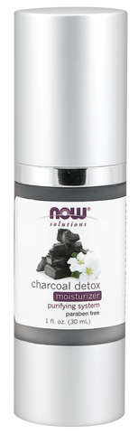 NOW Solutions Charcoal Detox Moisturizer