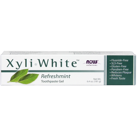 NOW XyliWhite Refreshmint Toothpaste Gel