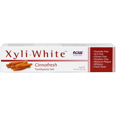 NOW XyliWhite Cinnafresh Toothpaste Gel