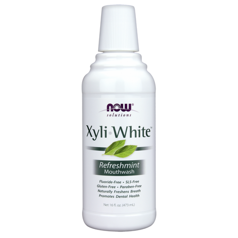 NOW XyliWhite Mouthwash - Refreshmint