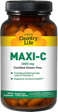 Country Life Maxi-C Caps