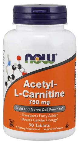 NOW Acetyl-L-Carnitine 750 mg