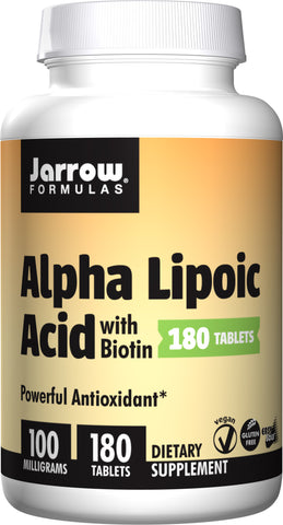 Jarrow Formulas Alpha Lipoic Acid with Biotin
