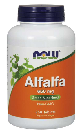 NOW Alfalfa 650 mg