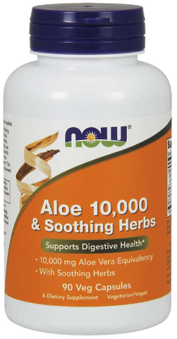 NOW Aloe 10,000 & Soothing Herbs