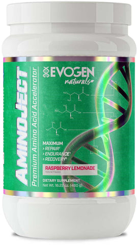 Evogen AminoJect Natural - Raspberry Lemonade