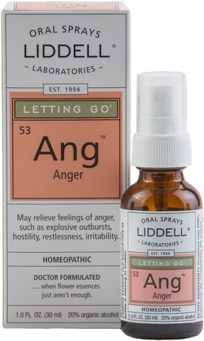 Liddell Laboratories Letting Go - Anger