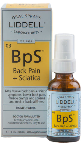 Liddell Laboratories Back Pain + Sciatica (BpS)