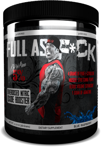 Rich Piana 5% Nutrition Full As F*ck Nitric Oxide Booster