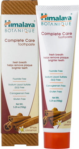 Himalaya Botanique Simply Cinnamon Complete Care Toothpaste