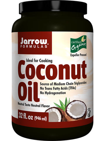 Jarrow Formulas Coconut Oil (100% Organic)