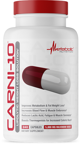 Metabolic Nutrition CarniTen