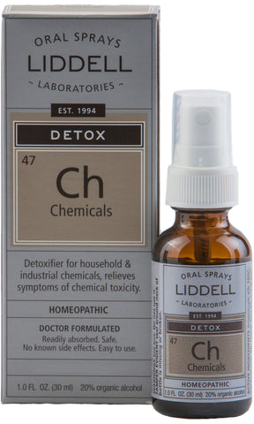 Liddell Laboratories Detox - Chemicals (Ch)