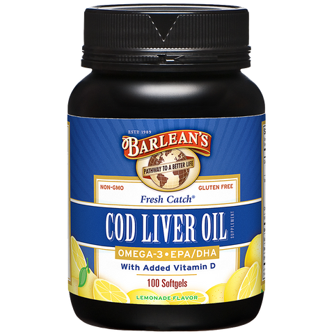 Barlean's Fresh Catch Cod Liver Oil