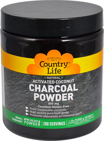 Country Life Activated Coconut Charcoal Powder