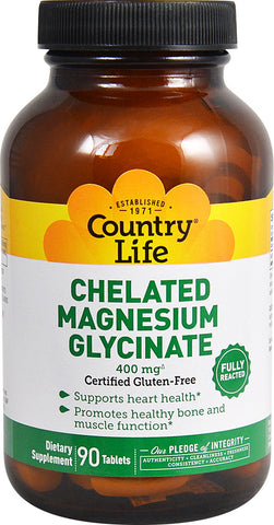 Country Life Chelated Magnesium Glycinate