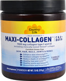 Country Life Maxi-Collagen with C & A + Biotin (Flavorless)