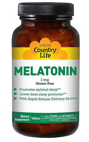 Country Life Melatonin 1 mg Rapid Release