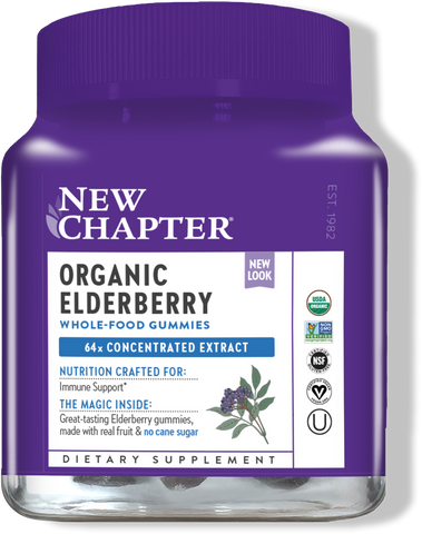 New Chapter Organic Elderberry Whole-Food Gummies