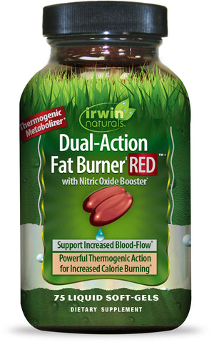 Irwin Naturals Dual-Action Fat Burner RED