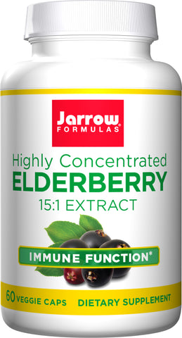 Jarrow Formulas Highly Concentrated Elderberry 15:1 Extract