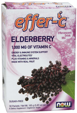 NOW Effer-C Elderberry