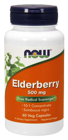NOW Elderberry Extract 500 mg