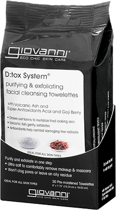 Giovanni D:tox System Facial Cleansing Towelettes