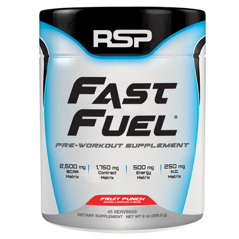 RSP Nutrition Fast Fuel Pre-Workout - Fruit Punch