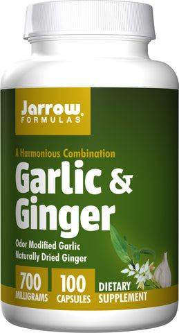 Jarrow Formulas Garlic & Ginger