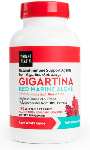 Vibrant Health Gigartina Red Marine Algae