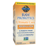 Garden of Life RAW Probiotics Ultimate Care 100 Billion (Shelf-stable)